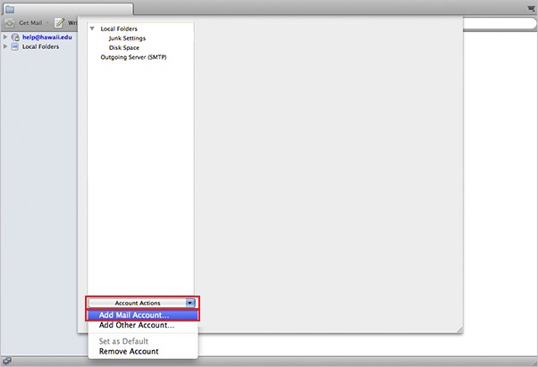 thunderbird for mac setup step 3