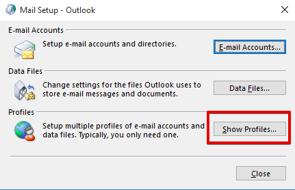 Outlook 2016 setup instructions for MS Email Exchange step 2