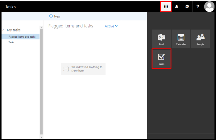 exchange task on outlook web access